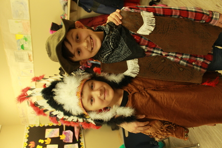 Photos of Harvest Dress Up Day