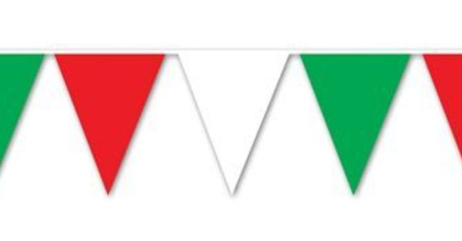 Red, White & Green Day